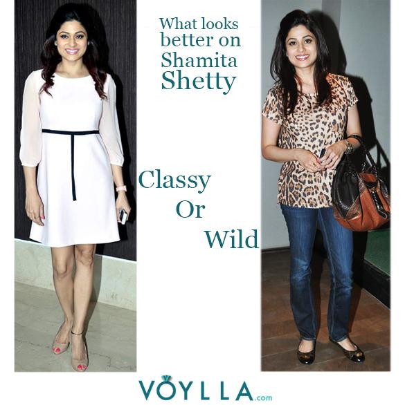 Which Look Do You Prefer On Shamita?