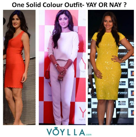 Solid Colour Outfits- YAY or NAY ?